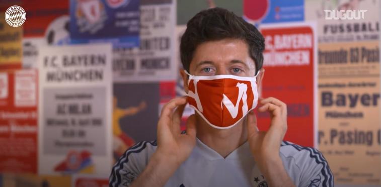Football - Etranger - Quand les joueurs du Bayern Munich donnent des conseils d'hygiène