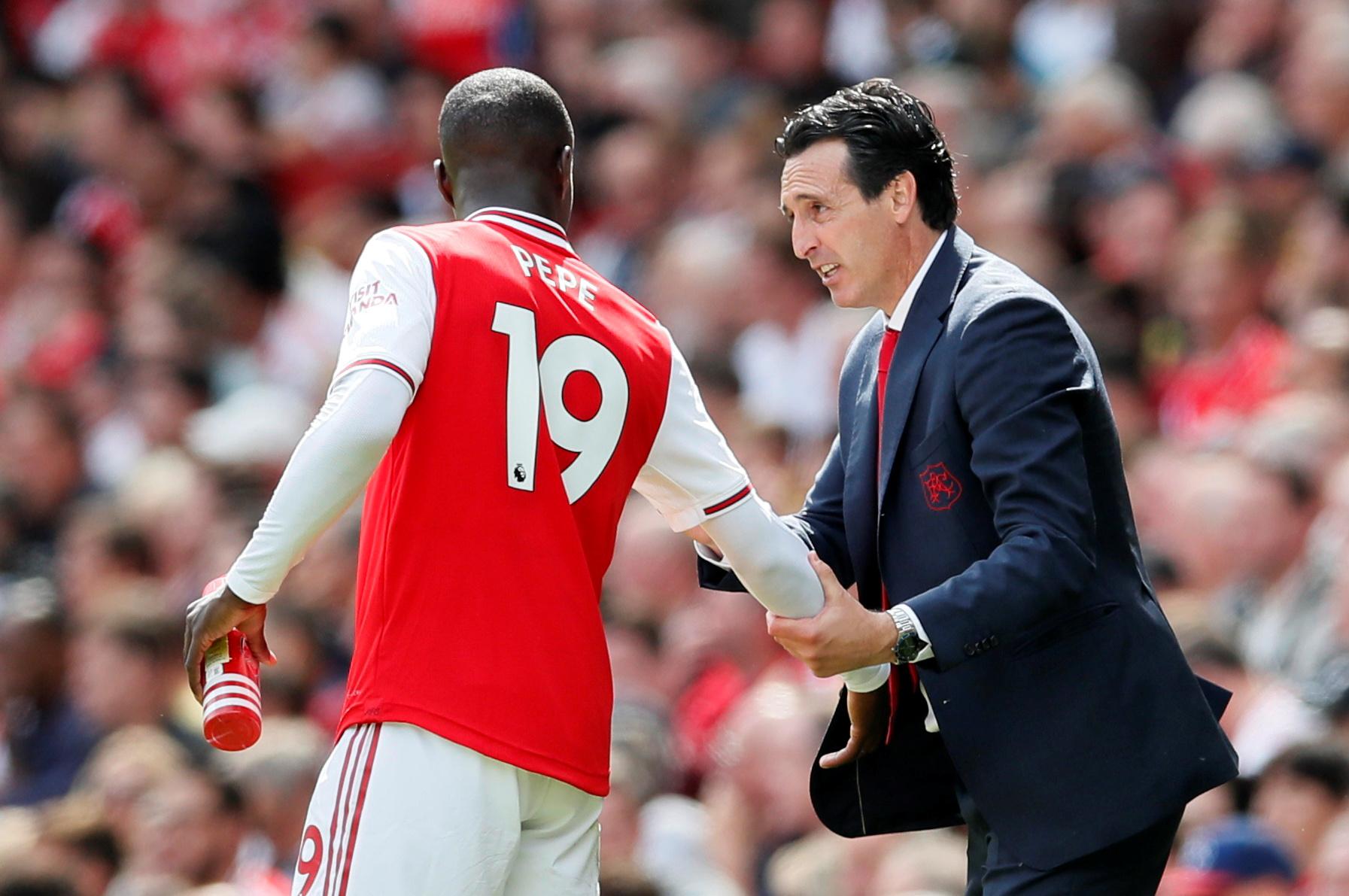 Football - Etranger - Arsenal : Emery souligne «l'impact» de Pépé après son entrée en jeu