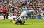City tombe de haut face à Wigan