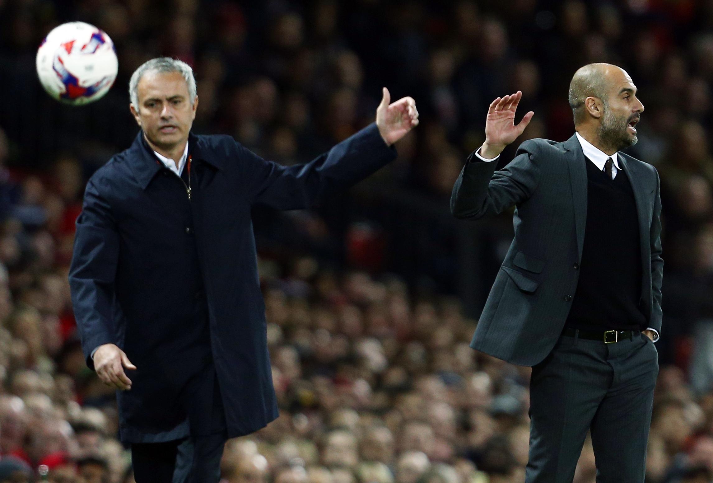Football - Etranger - Dans le derby de Manchester, Mourinho rrêve du scalp de Guardiola
