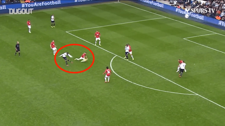 Football - Etranger - Defoe, Carr, Lucas Moura : le top 5 des buts de Tottenham contre Manchester United