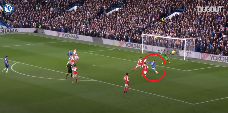 Football – Etranger – En attendant le foot : la percée salvatrice d'Hazard face à Arsenal