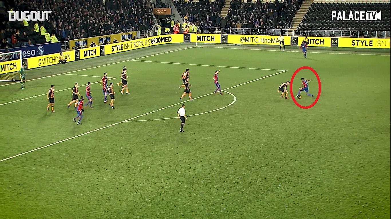 Football - Etranger - En attendant le foot : le coup de génie de Zaha contre Hull City
