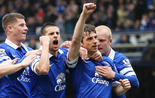 Barkley, Mirallas, Baines et Naismith, Everton