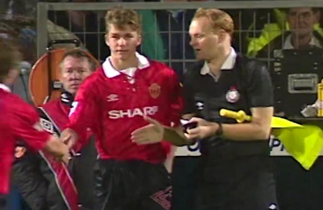 Football - Etranger - Il y a 25 ans, Beckham effectuait ses débuts avec Manchester United