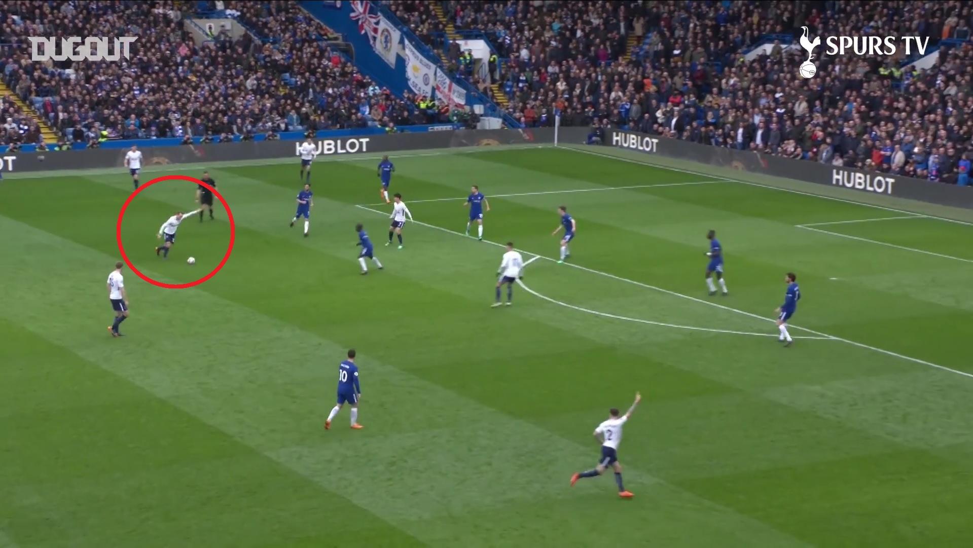 J-1 Chelsea-Tottenham : le missile d'Eriksen avec les Spurs en 2018