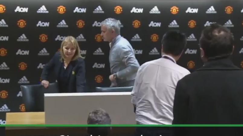 Football - Etranger - José Mourinho expédie une conférence de presse... en 10 secondes