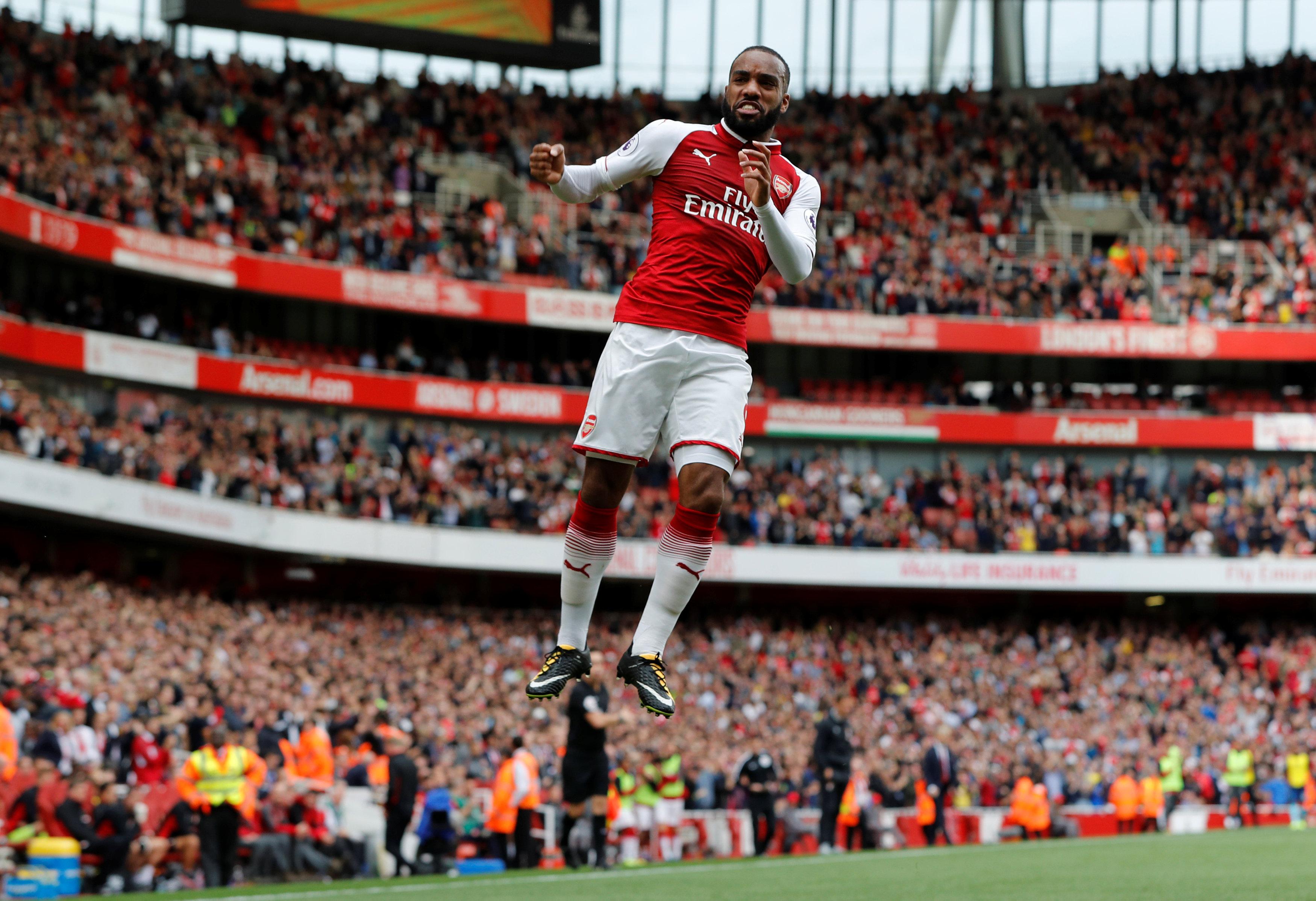 Football - Etranger - Lacazette entre (déjà) dans l'histoire d'Arsenal