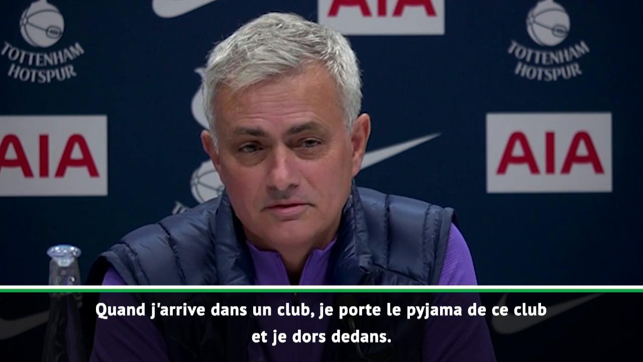 Football - Etranger - Mourinho tente de séduire : «Je porte le pyjama de mon club et je dors avec»