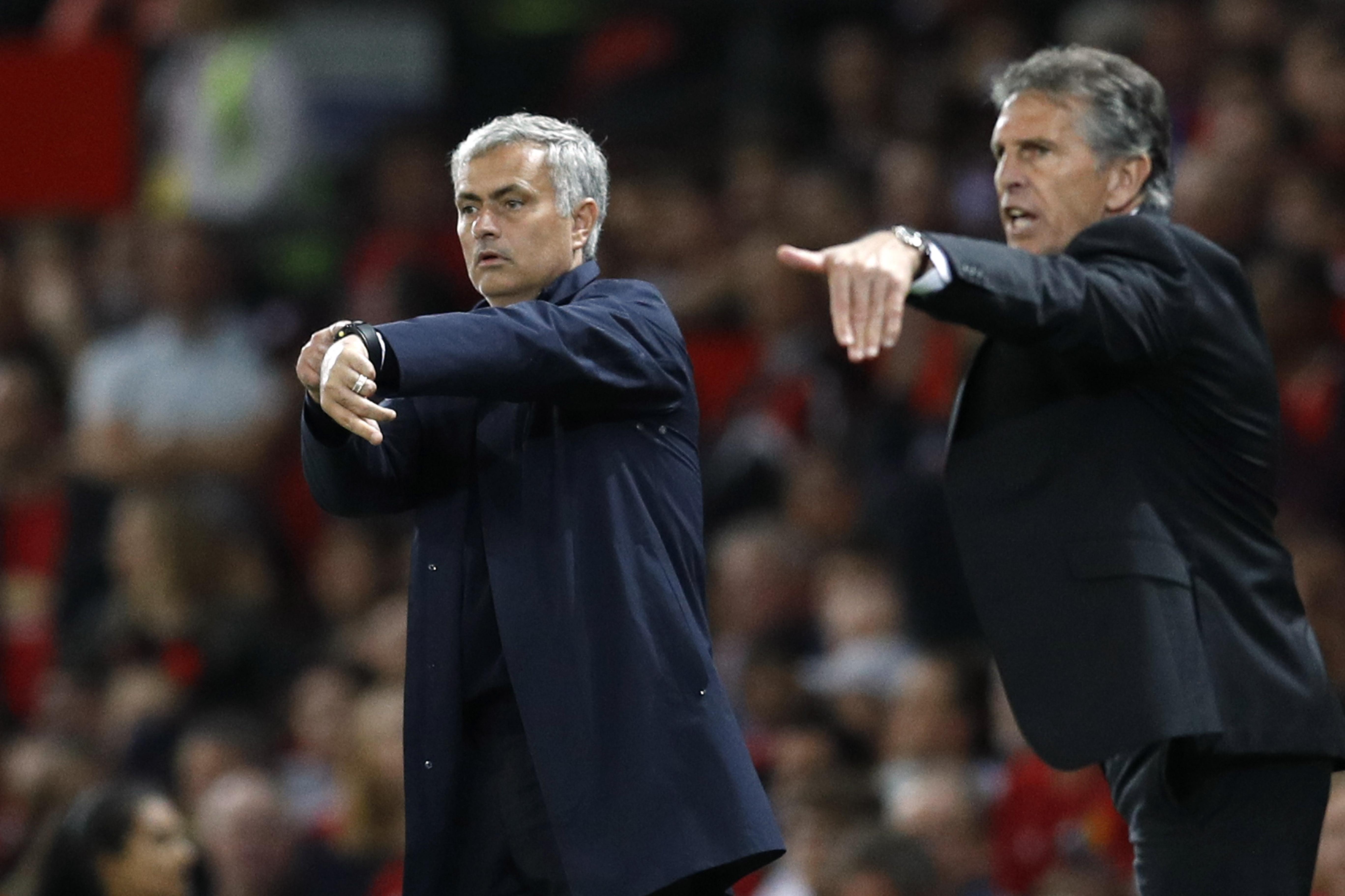 Football - Etranger - En finale à Wembley, Puel et Mourinho ont des choses à se prouver