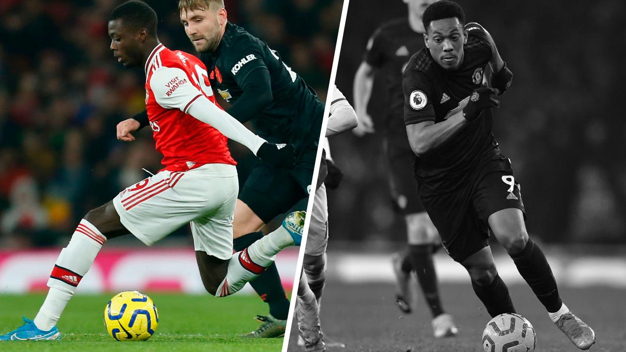 Football - Etranger - Tops/Flops Arsenal-Manchester United : Pépé la rédemption, Martial la déception