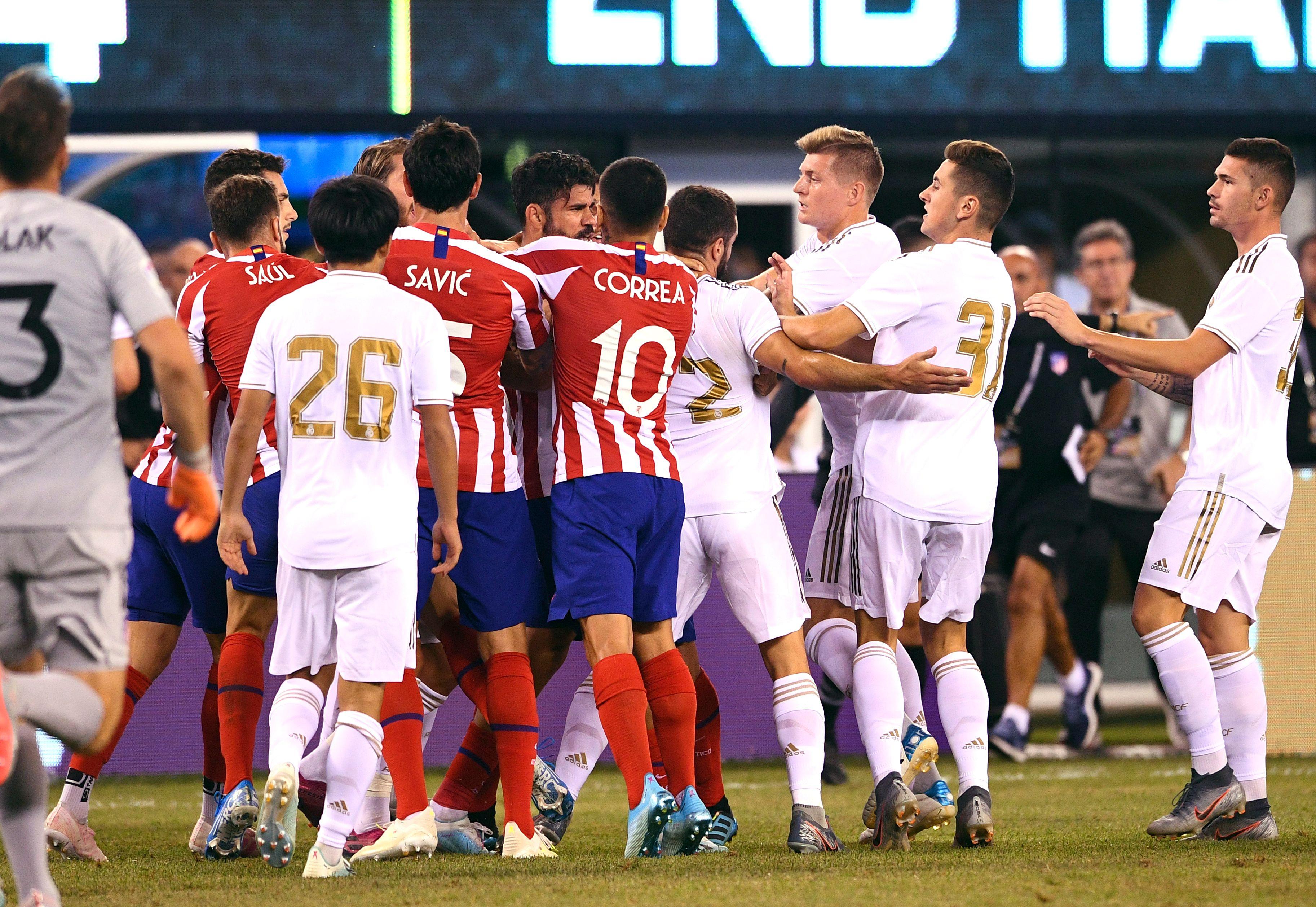 Football - Etranger - 7-3, l'Atletico Madrid colle une raclée au Real de Zidane