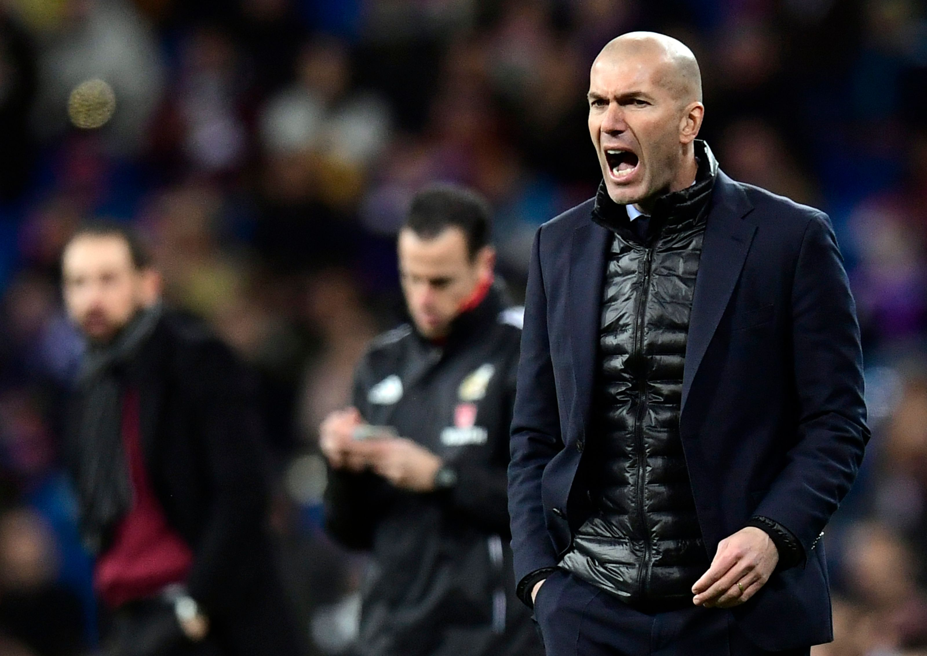 A la fin de sa carrière de joueur, Zidane n'avait «pas du tout envie d'être entraîneur»