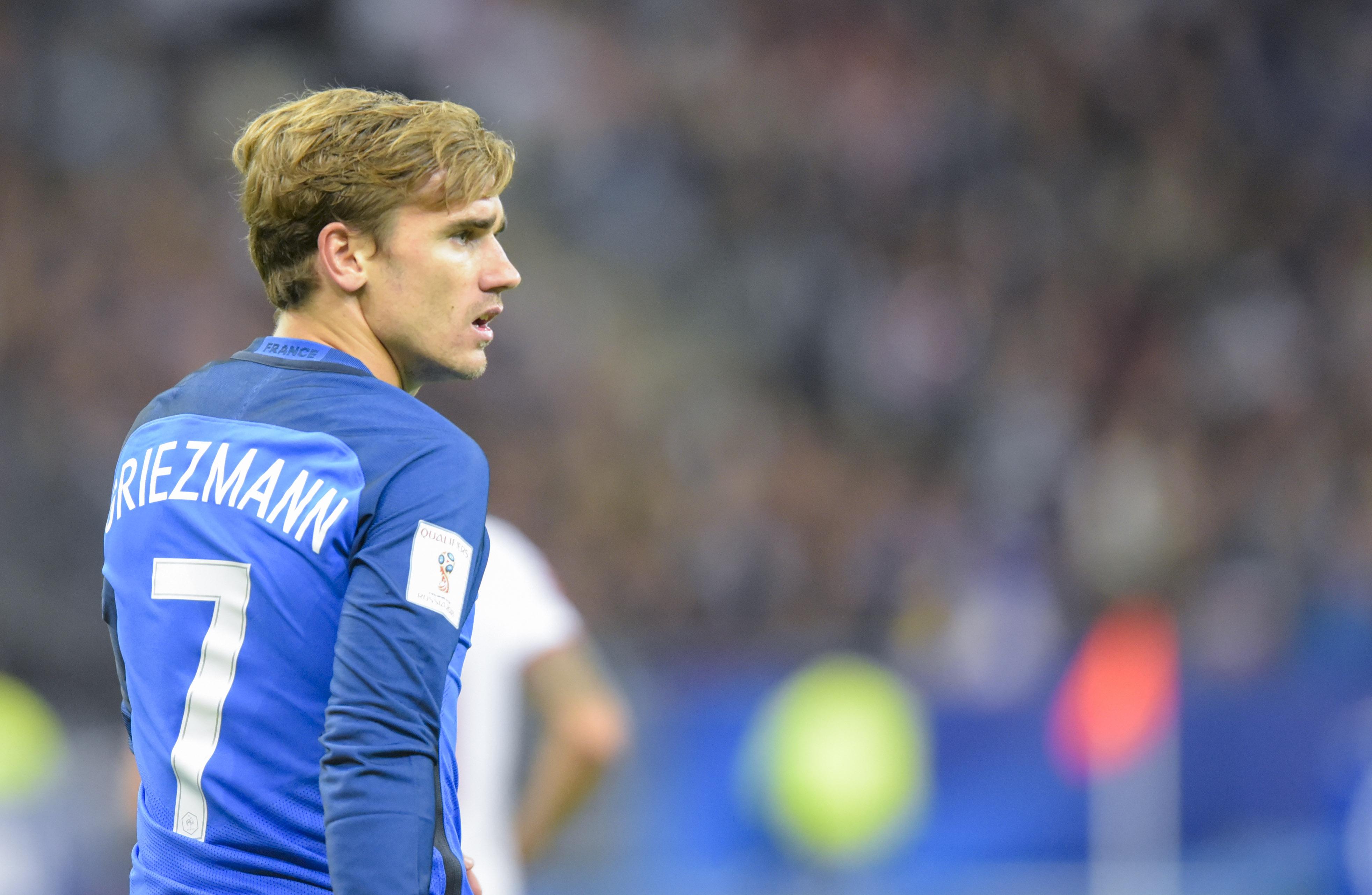 Football - Etranger - Antoine Griezmann répond à Franck Ribéry