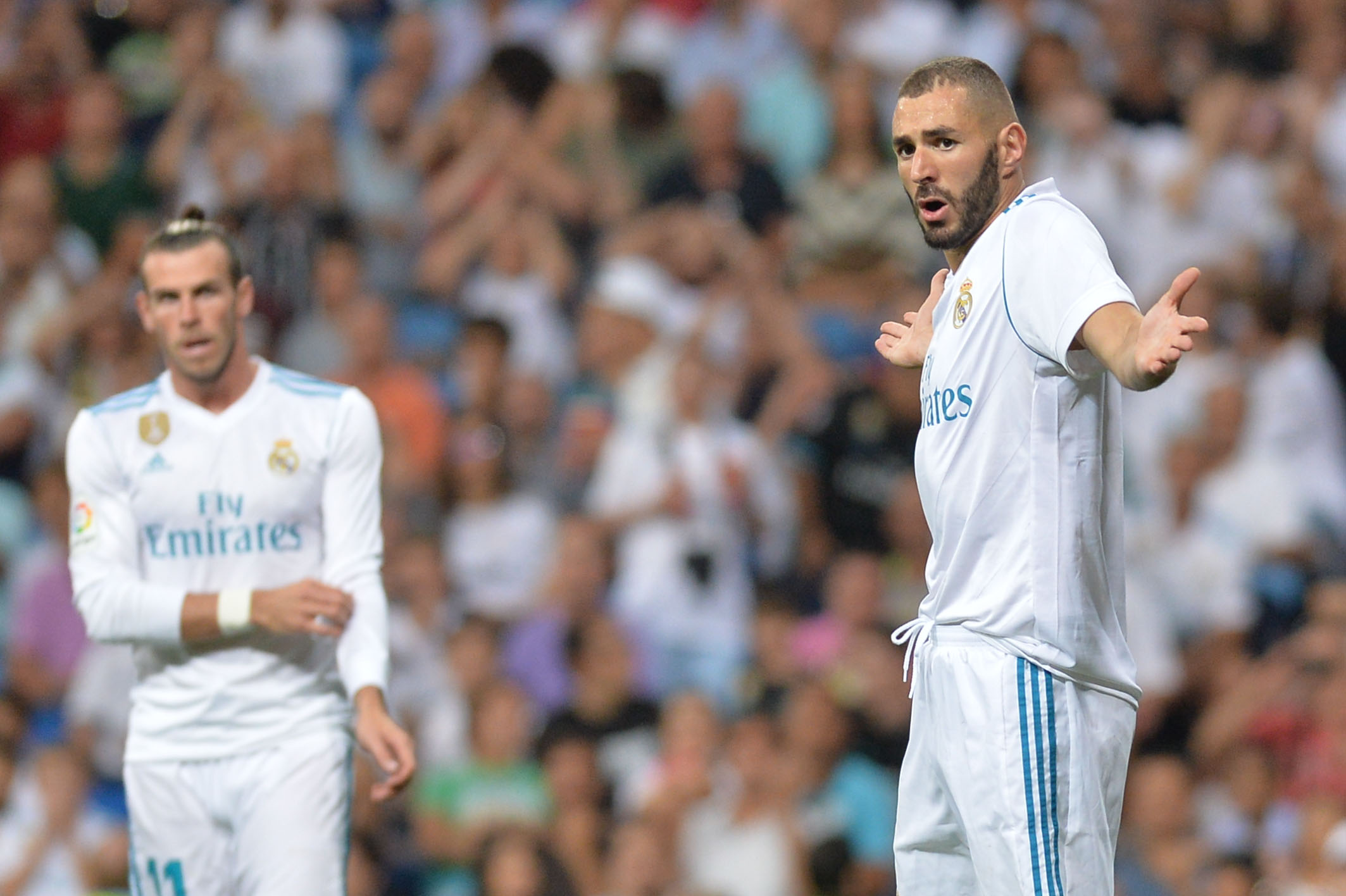 Football - Etranger - Benzema rempile au Real, l'histoire d'amour continue