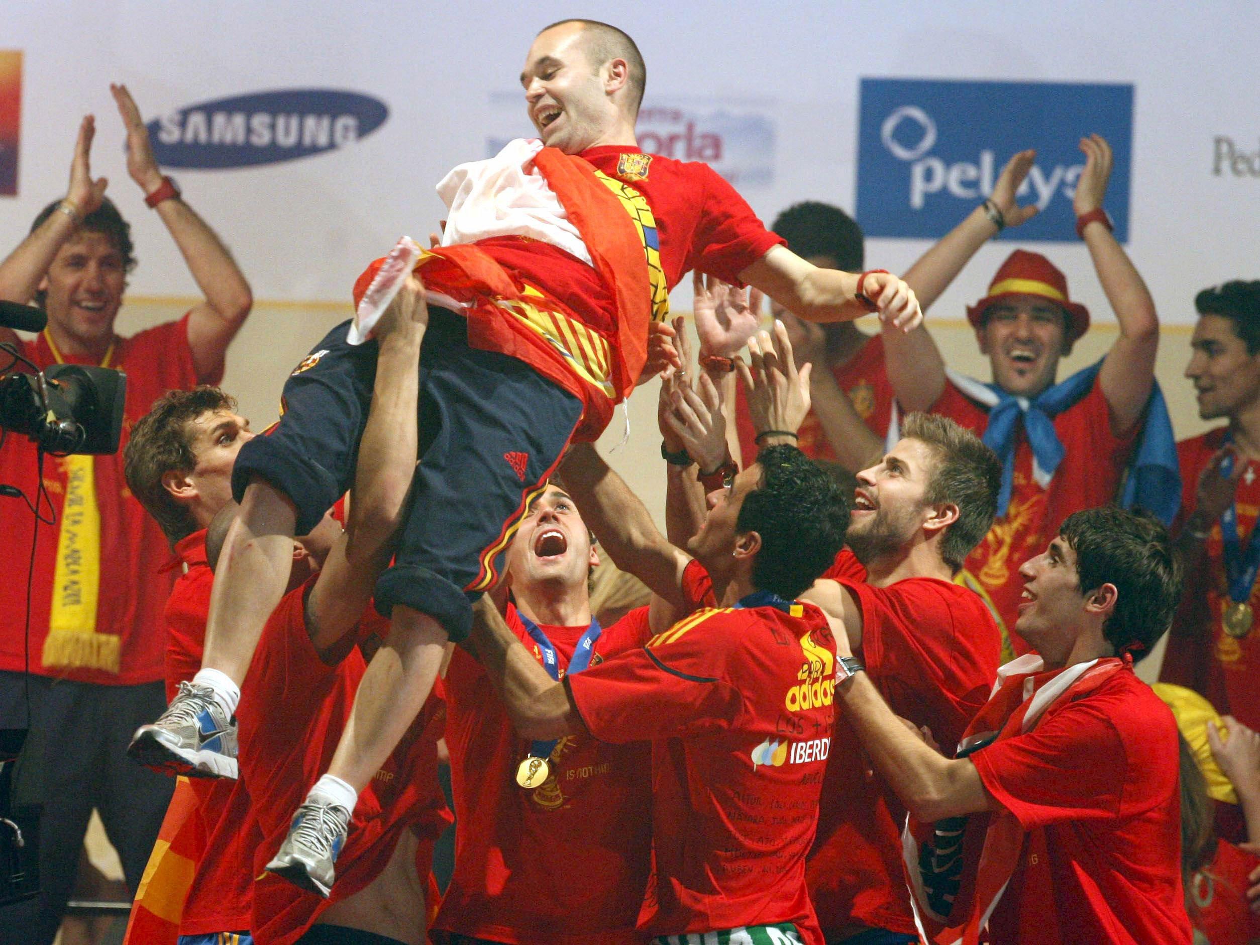 Comment un but en finale de coupe du monde a sauv iniesta espagne etranger football - Resultats coupe du monde handball ...