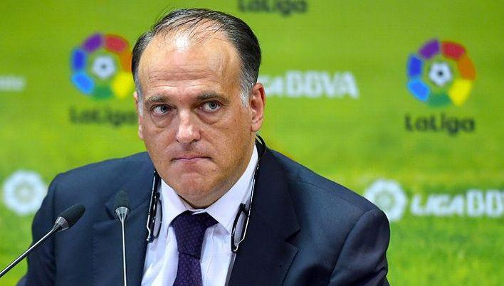 Football - Etranger - Dans le viseur du fisc espagnol, Tebas voit son poste menacé