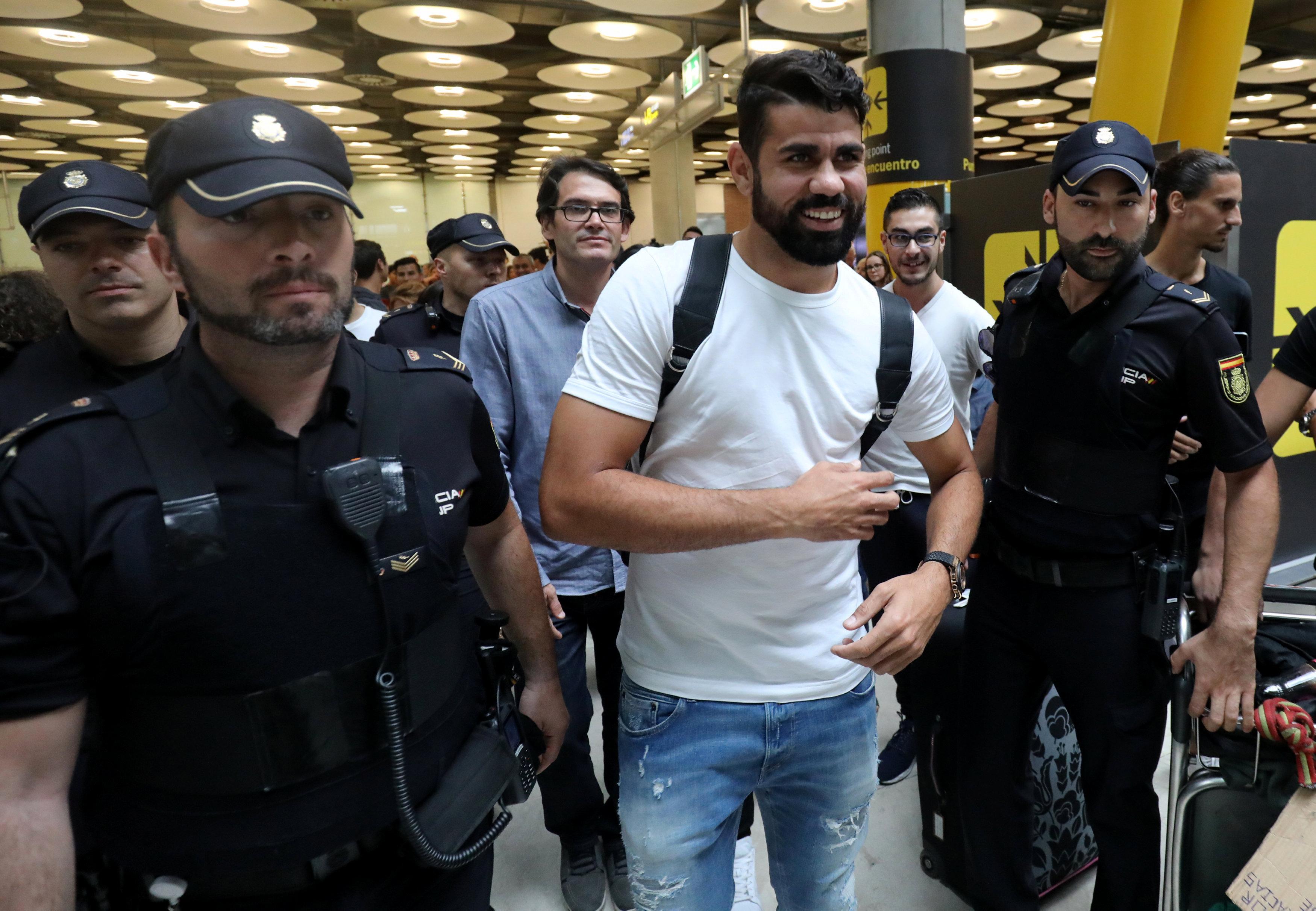 Football - Etranger - Diego Costa : «Ça a pris trop de temps mais la fin est heureuse»