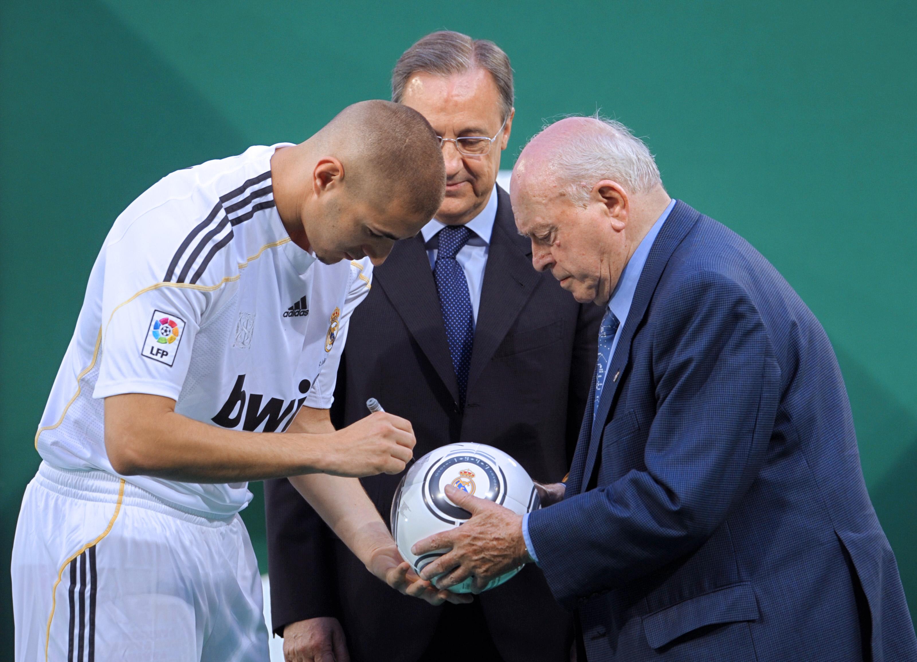 Football - Etranger - Florentino Perez : «Benzema ne nous a jamais causé de problème»