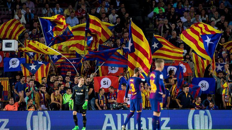 Football - Etranger - Indépendance de la Catalogne : le Barça s'en mêle