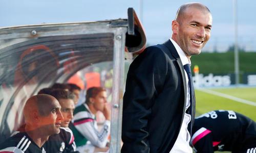 La surprenante joie de Zidane après le but de Modric