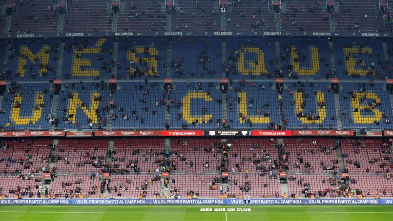 Football - Etranger - Le FC Barcelone amorce la révolution titanesque de ses stades