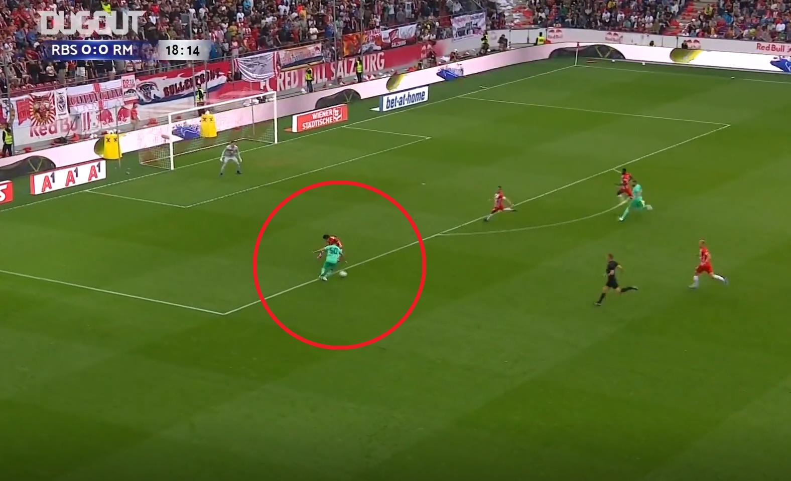 Football - Etranger - Le (magnifique) premier but de Hazard avec le Real Madrid