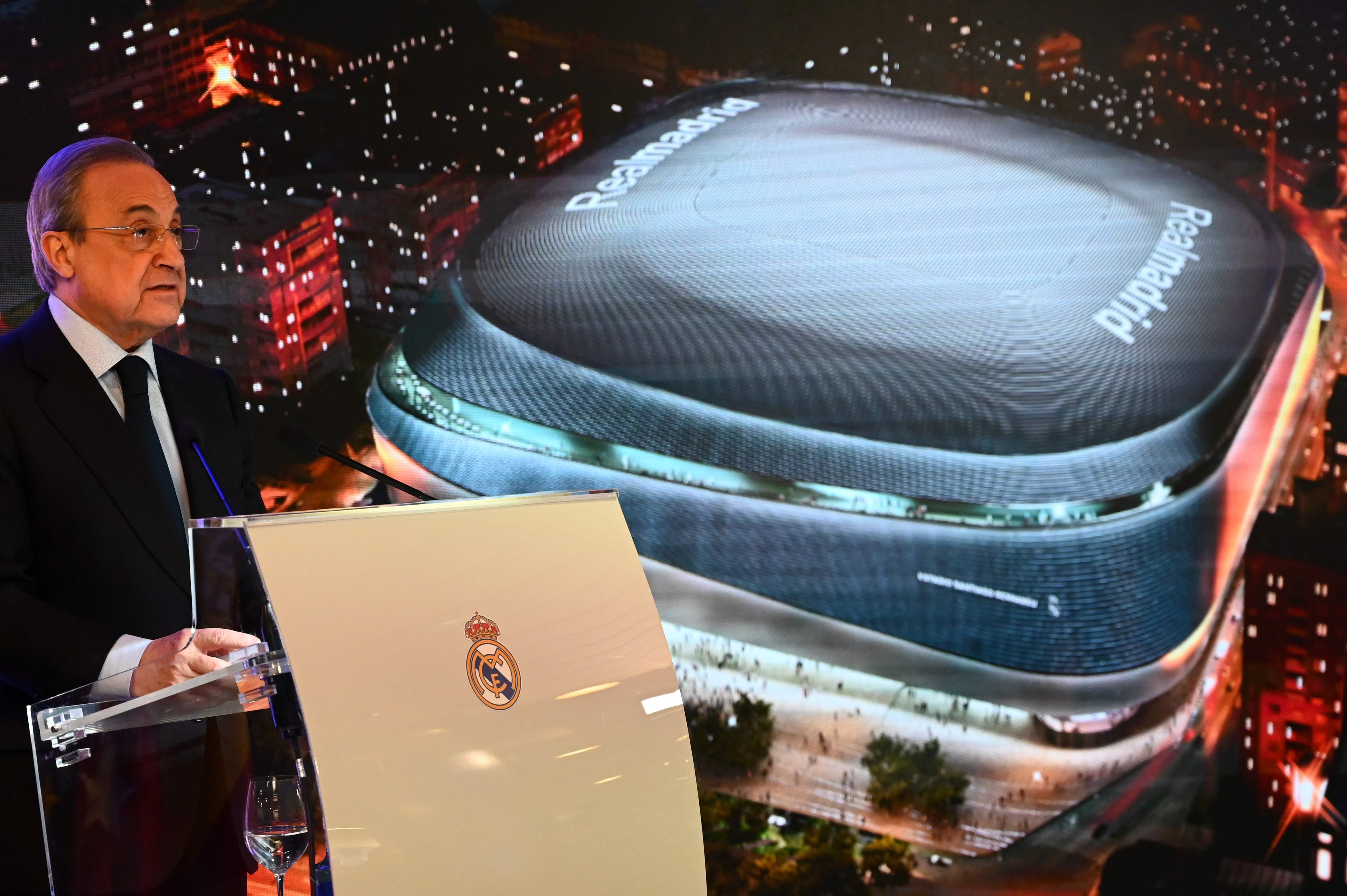 Football - Etranger - Le Real Madrid a présenté le futur Santiago Bernabeu