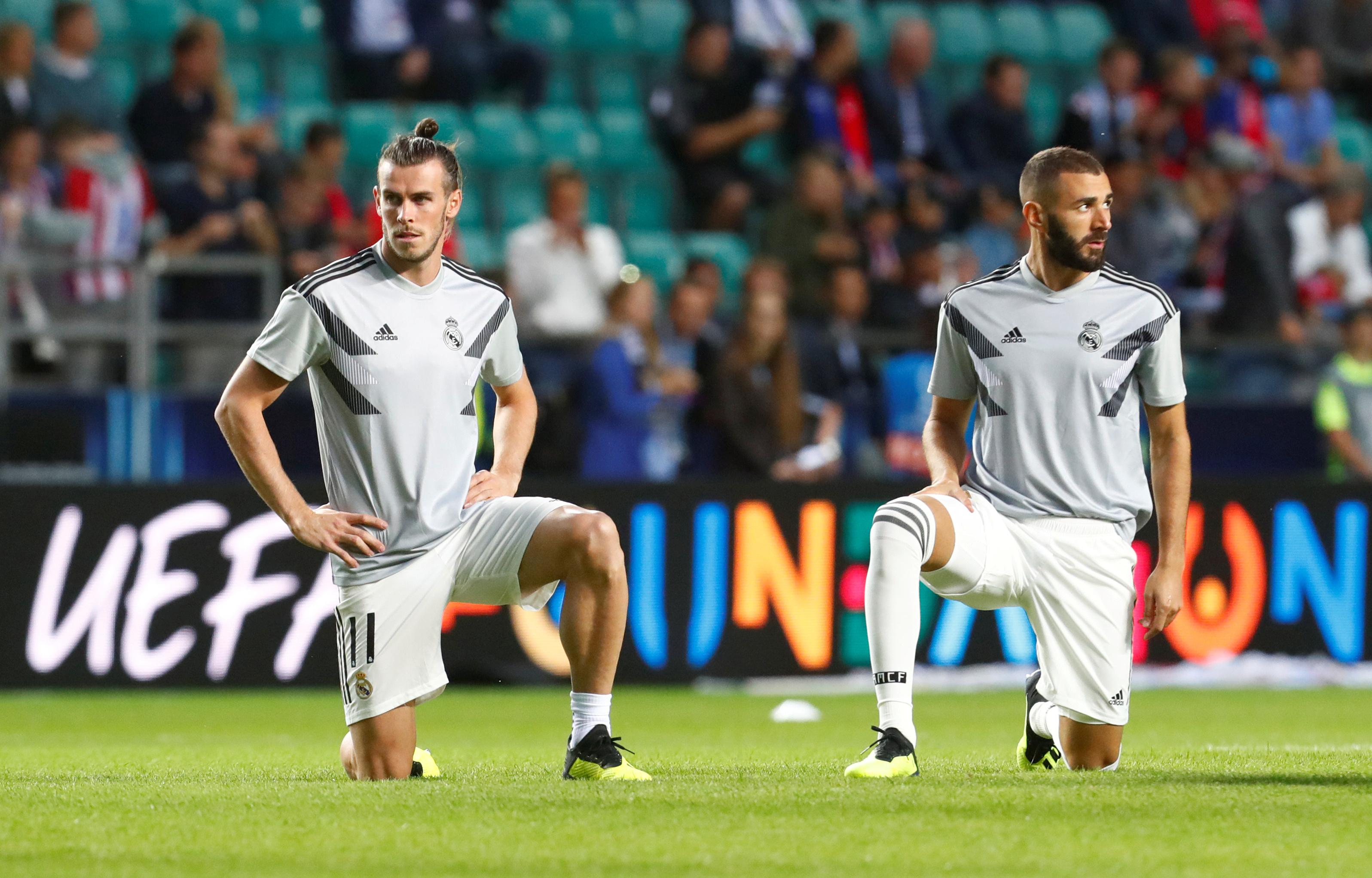 Football - Etranger - Le Real Madrid sans Benzema ni Bale en Arabie saoudite