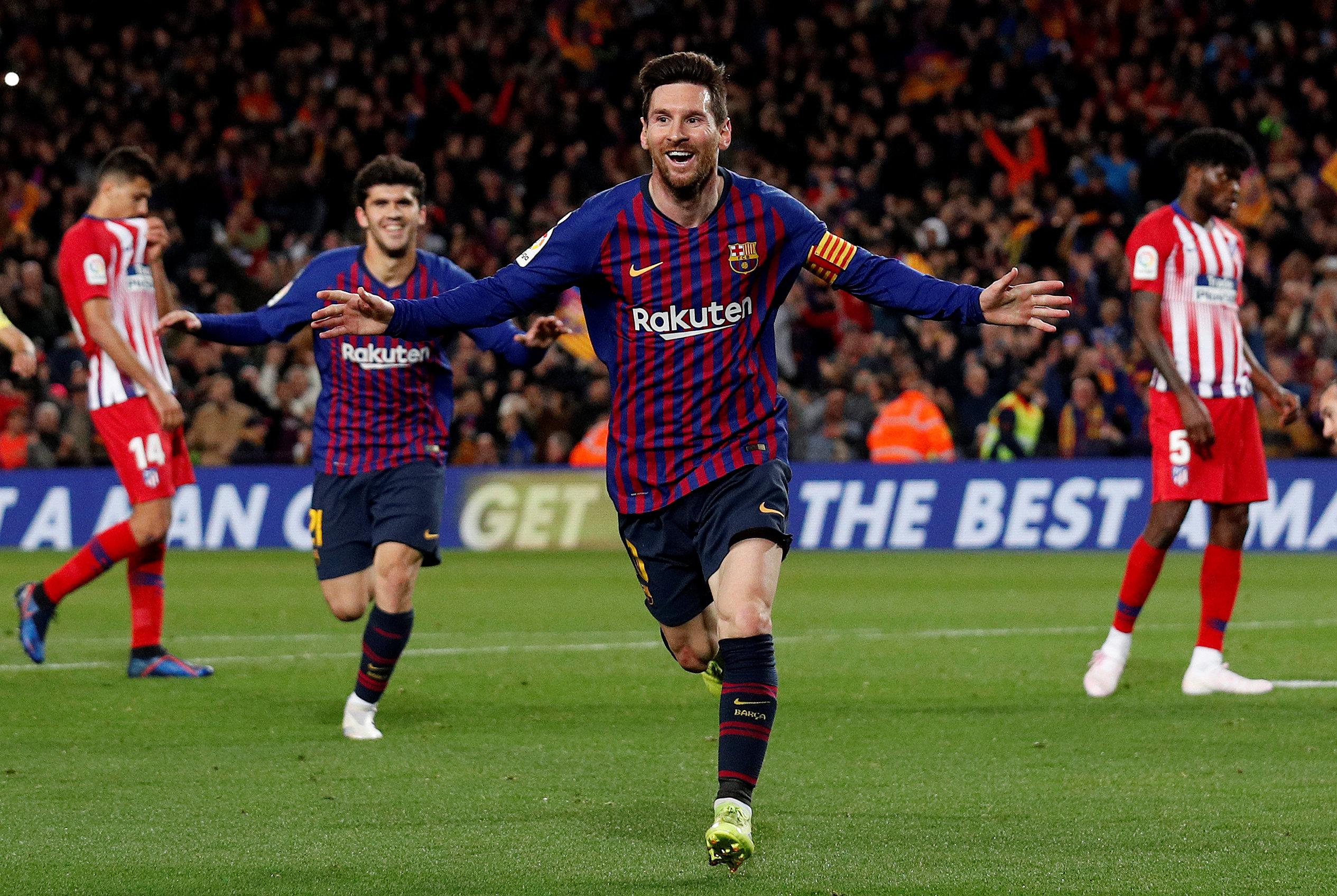 Football - Etranger - Les 5 meilleurs buts du Barça face à l'Atlético