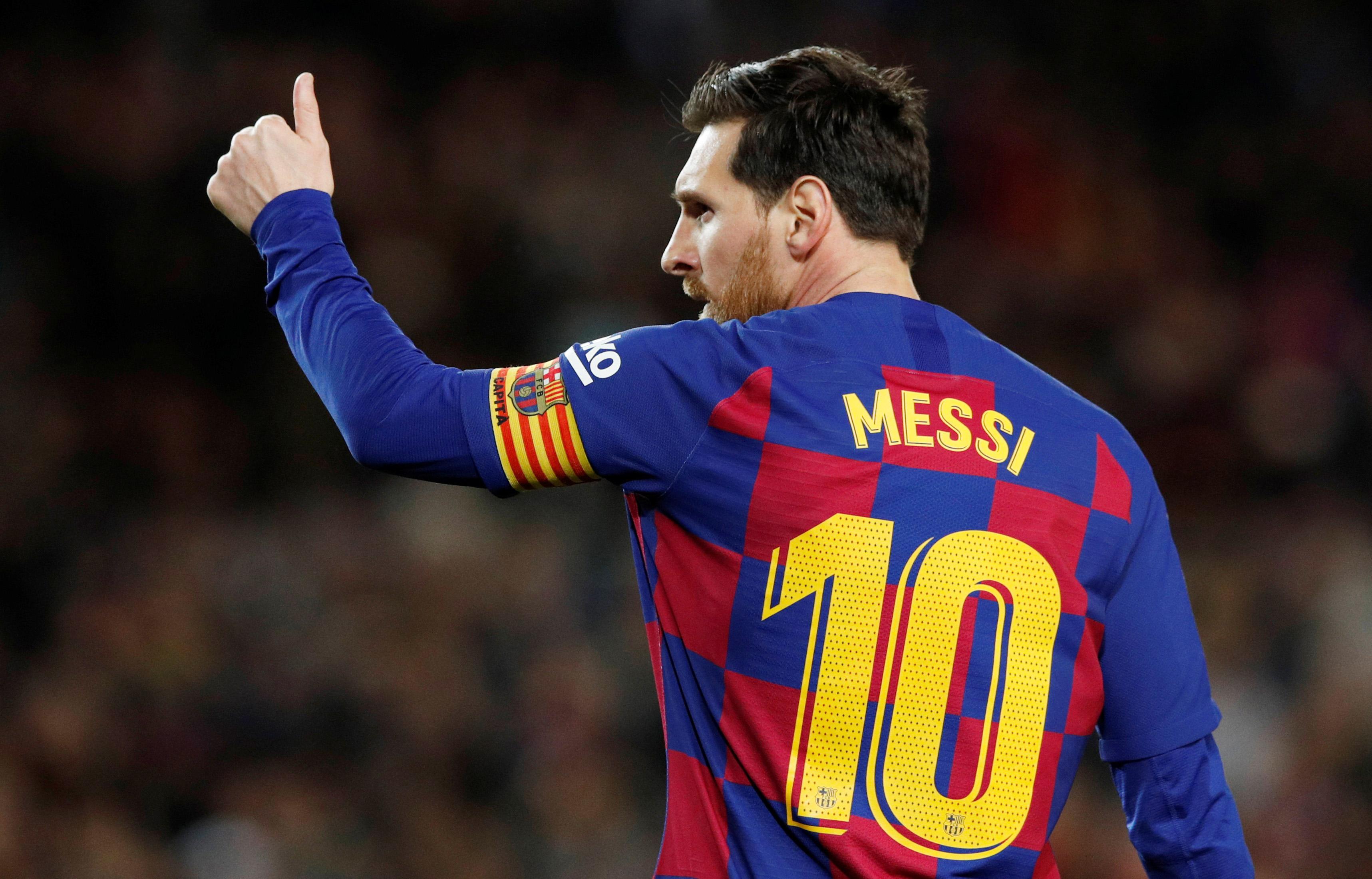 Football - Etranger - Lionel Messi juge le niveau du Barça «pas suffisant pour gagner la Ligue des champions»