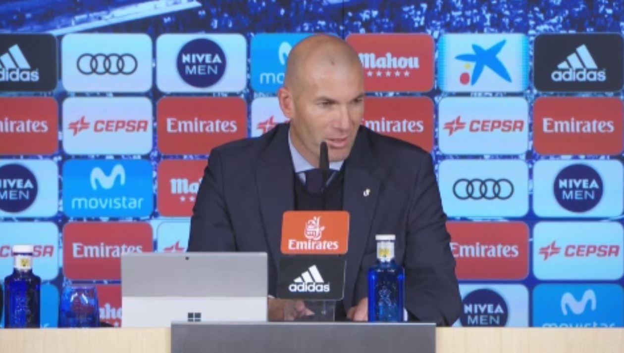 Football - Etranger - Malgré la défaite, Zidane n'a «rien n'à reprocher à (ses) joueurs»