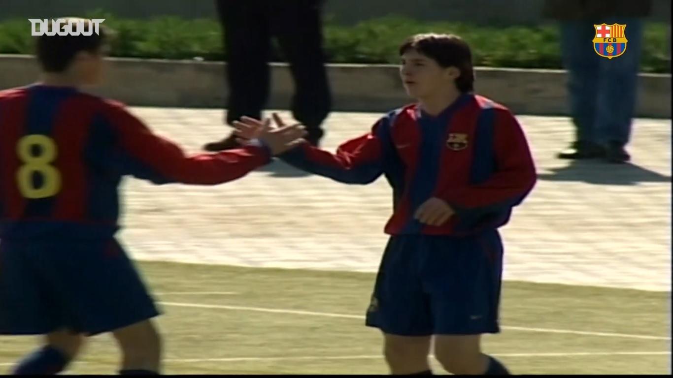 Football - Etranger - Messi fête ses 33 ans : ses plus beaux buts que vous n'avez jamais vus en équipe de jeunes