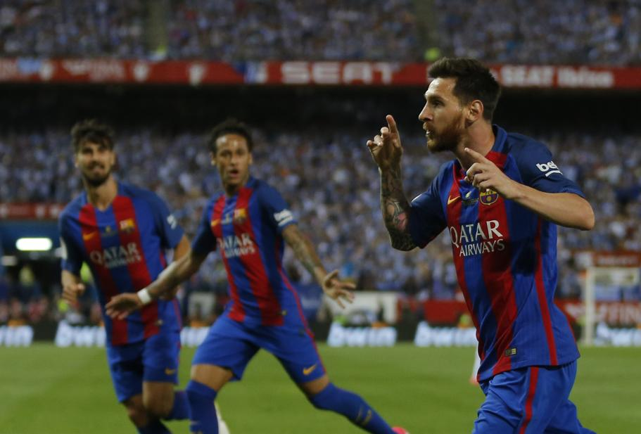 Messi sauve la saison du bar a en finale de coupe du roi - Resultat de la coupe du roi en espagne ...
