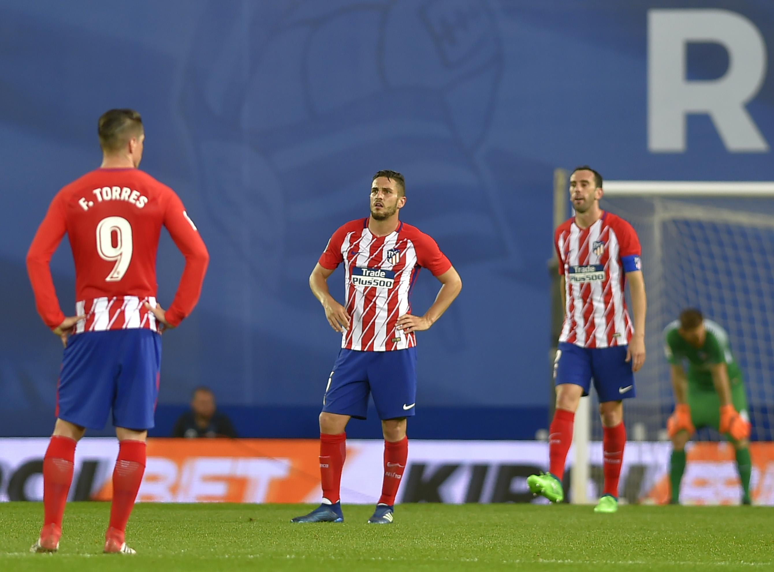 Football - Etranger - Occasion manquée pour l'Atlético Madrid