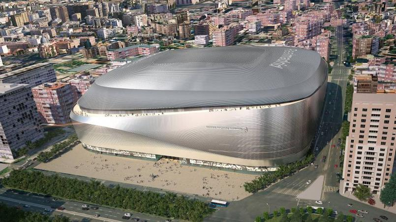 Football - Etranger - Real Madrid: la transformation de Bernabeu coûtera 400M€