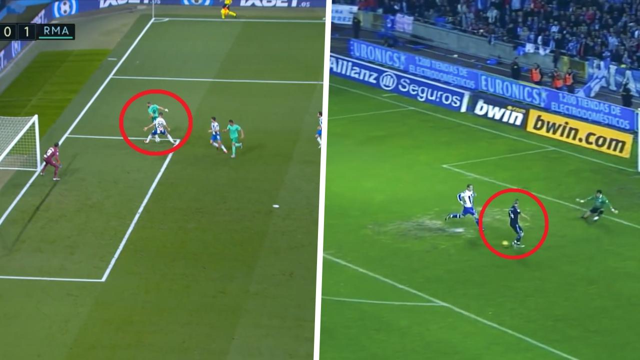 Football - Etranger - Real Madrid : quand Benzema imite le maître Guti 10 ans plus tard (vidéos)