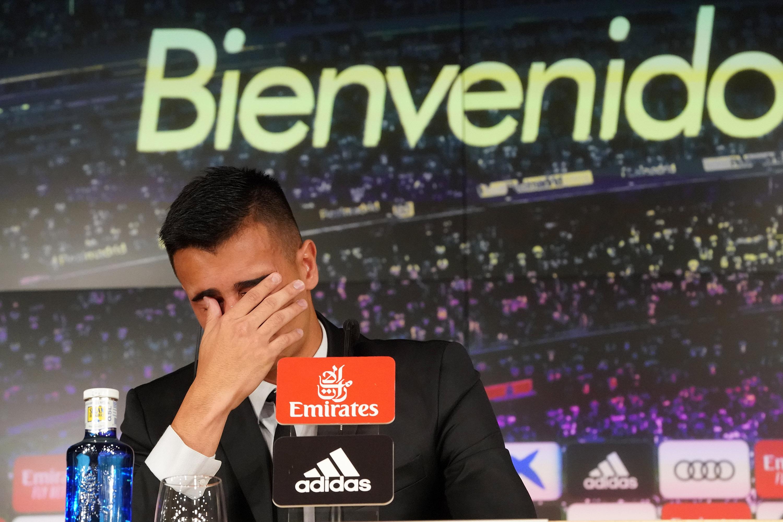 Football - Etranger - Real Madrid : Reinier fond en larmes lors de sa présentation