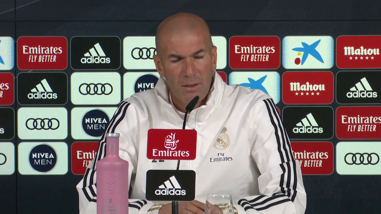 Football - Etranger - Real Madrid: Zidane très zen sur sa gestion de la pression