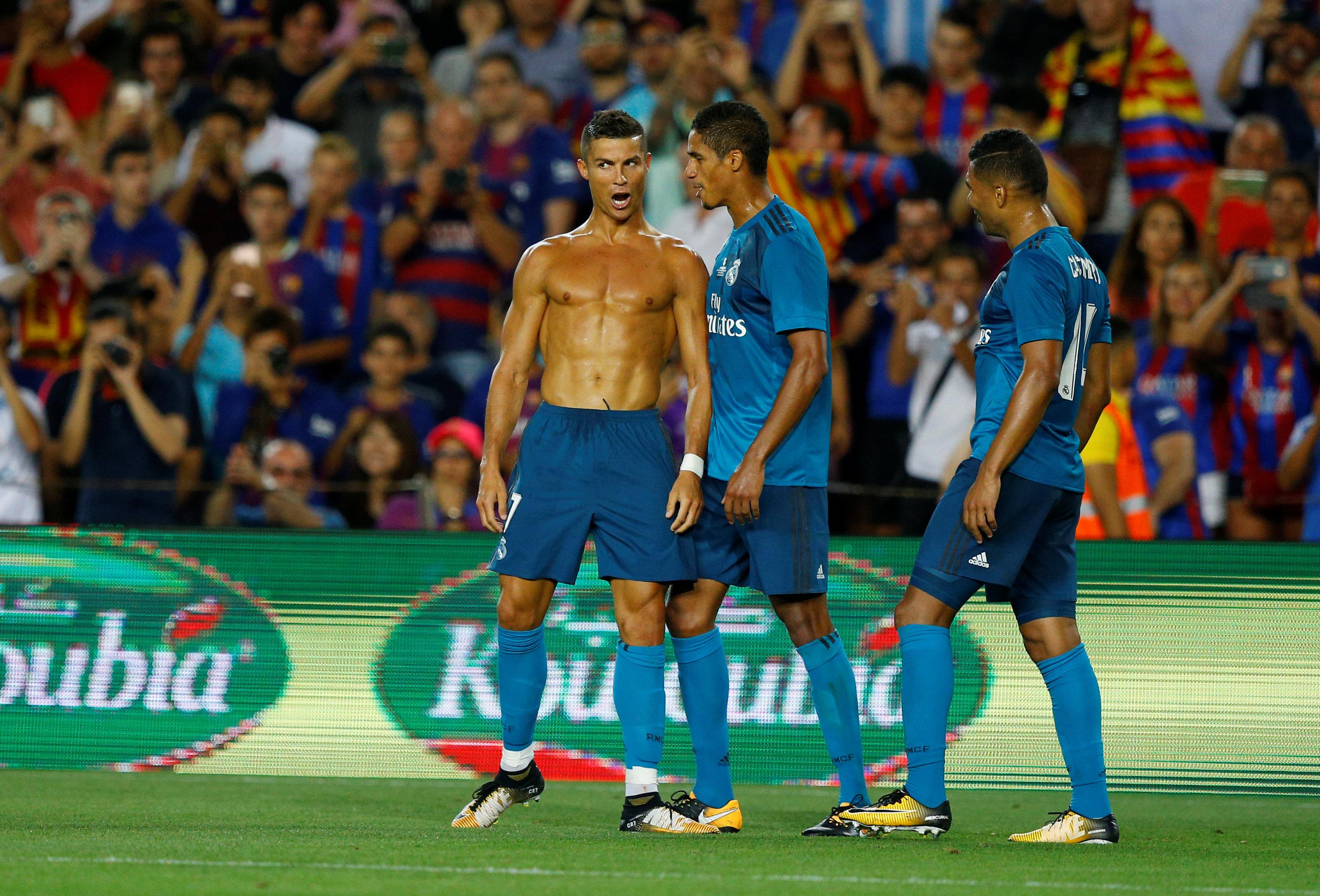 Supercoupe d 39 espagne le gros coup du real barcelone espagne etranger football - Final super coupe d espagne ...
