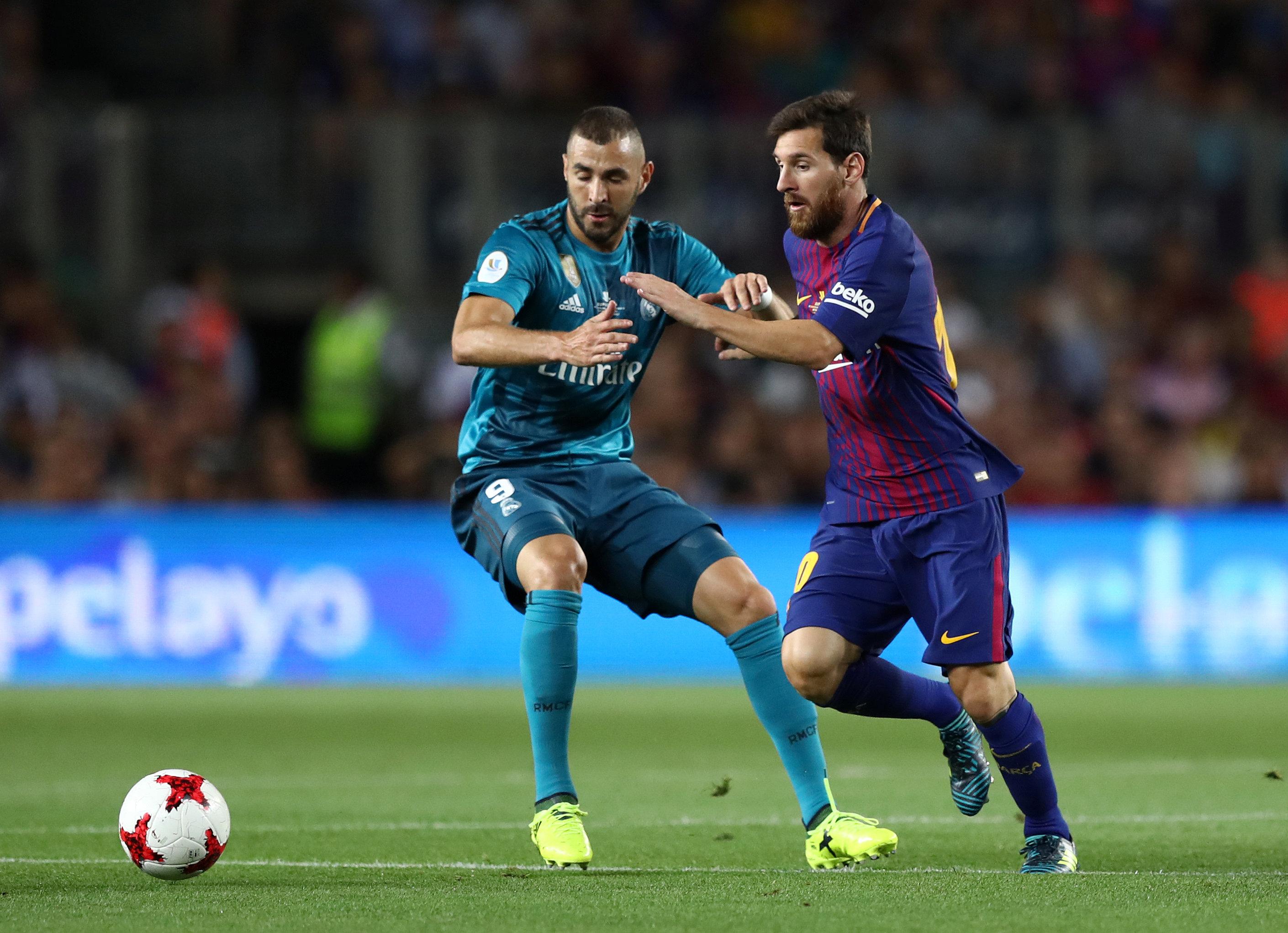 Supercoupe d 39 espagne real madrid barcelone en direct espagne etranger football - Final super coupe d espagne ...