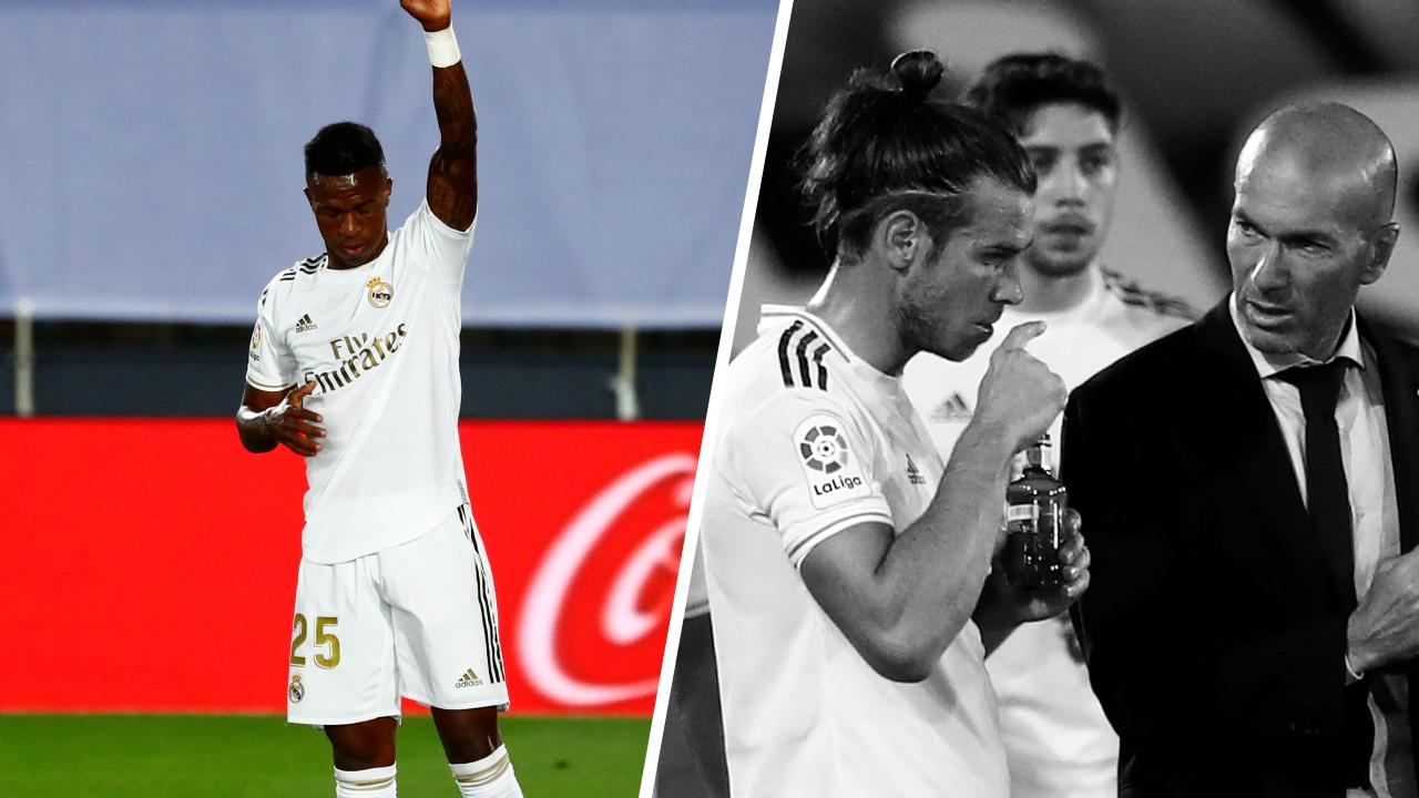 Football - Etranger - Tops/Flops Real Madrid-Majorque : Vinicius remuant, Bale désespérant