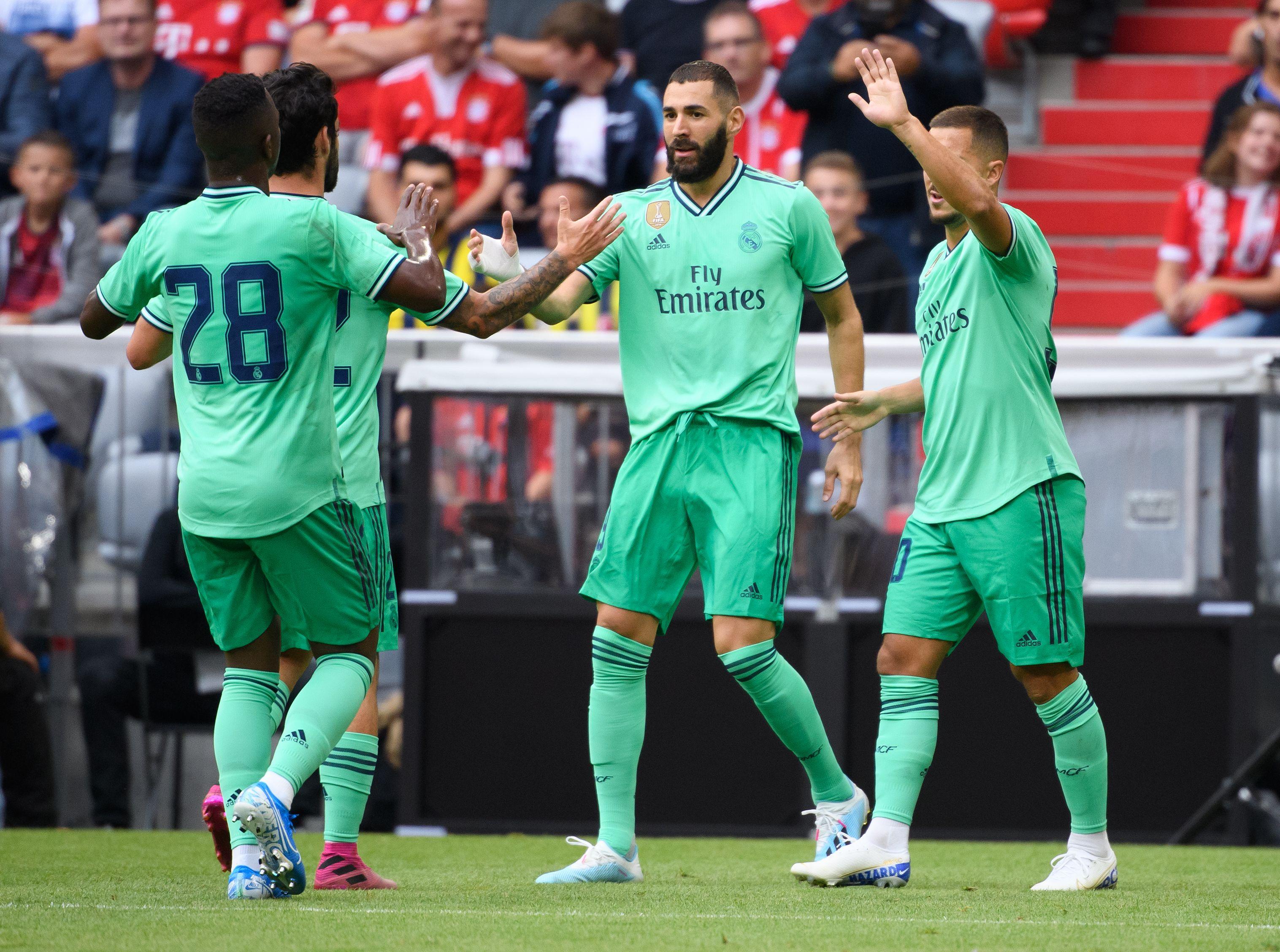 Football - Etranger - Un triplé pour Benzema, un bol d'air pour le Real Madrid