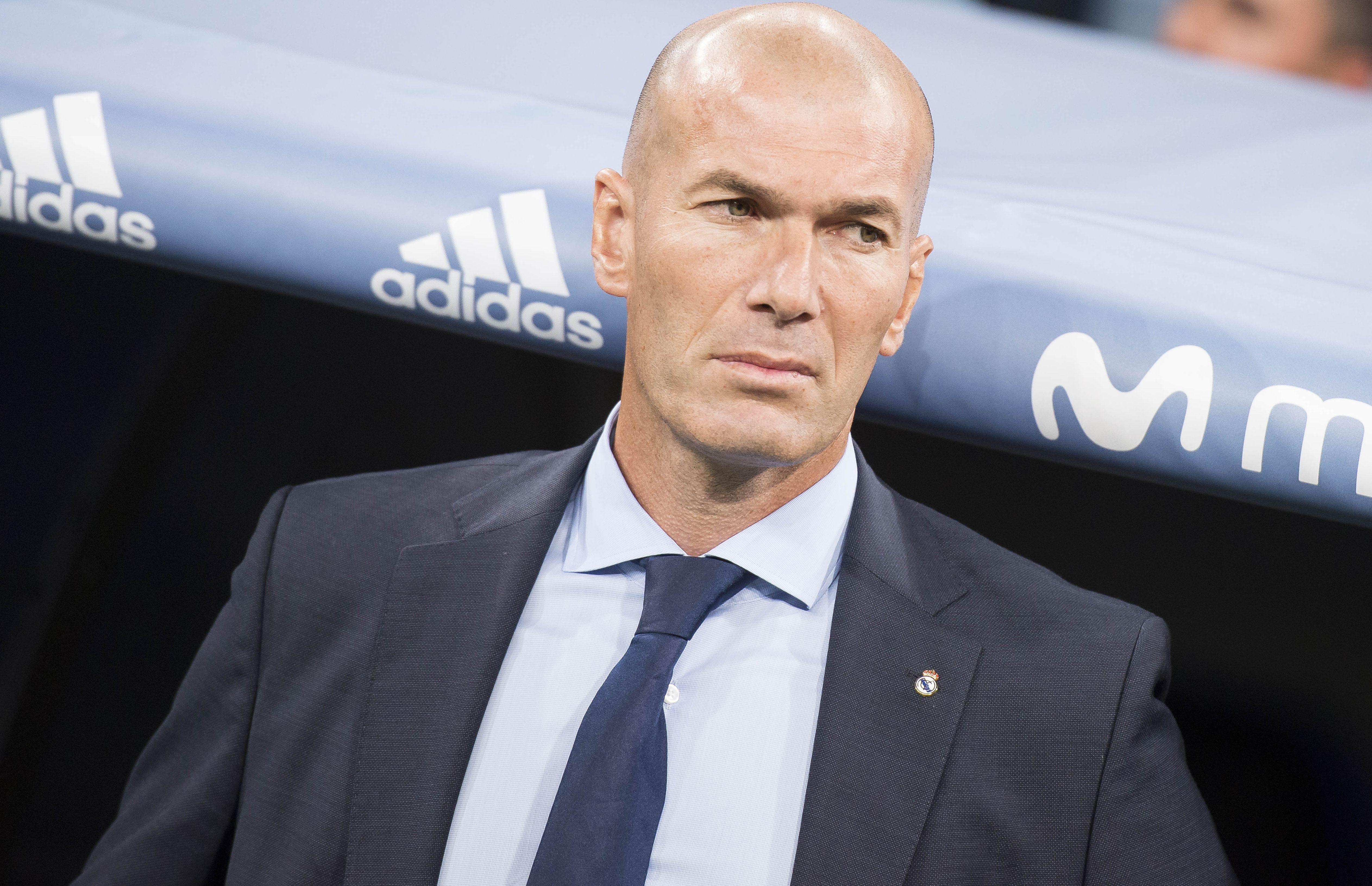 Football - Etranger - Zidane dédramatise le coup de mou du Real : «Je suis le chat noir, c'est ça ?»