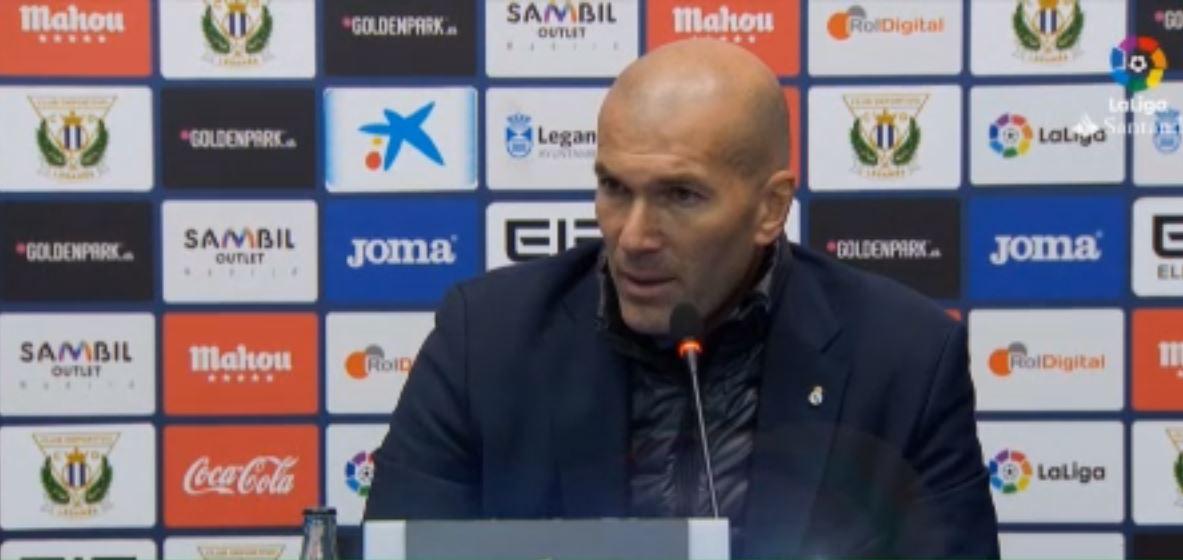Football - Etranger - Zidane sur la bonne forme du Real : «Il n'y a pas de coïncidence»