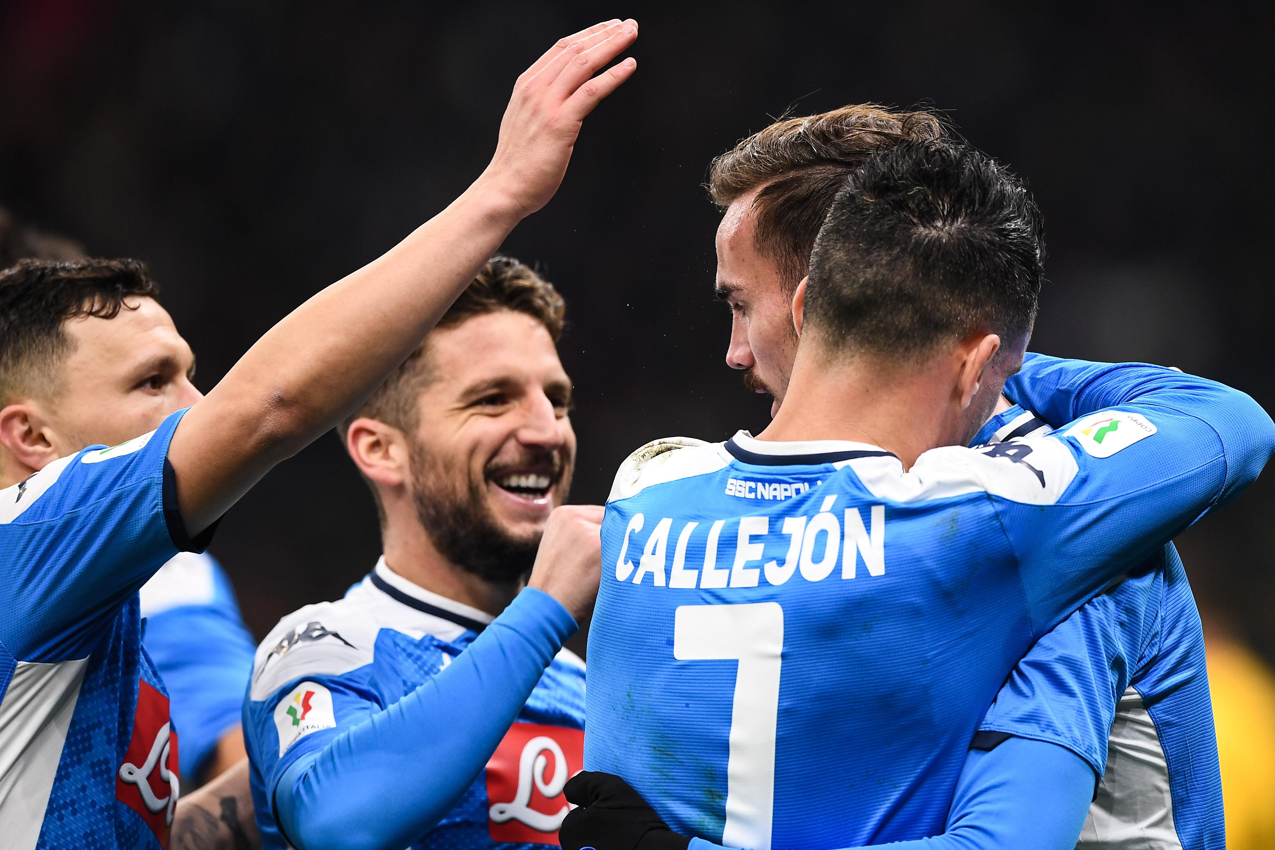 Coupe d'Italie : Naples surprend l'Inter et prend une option - Italie - Etranger - Football