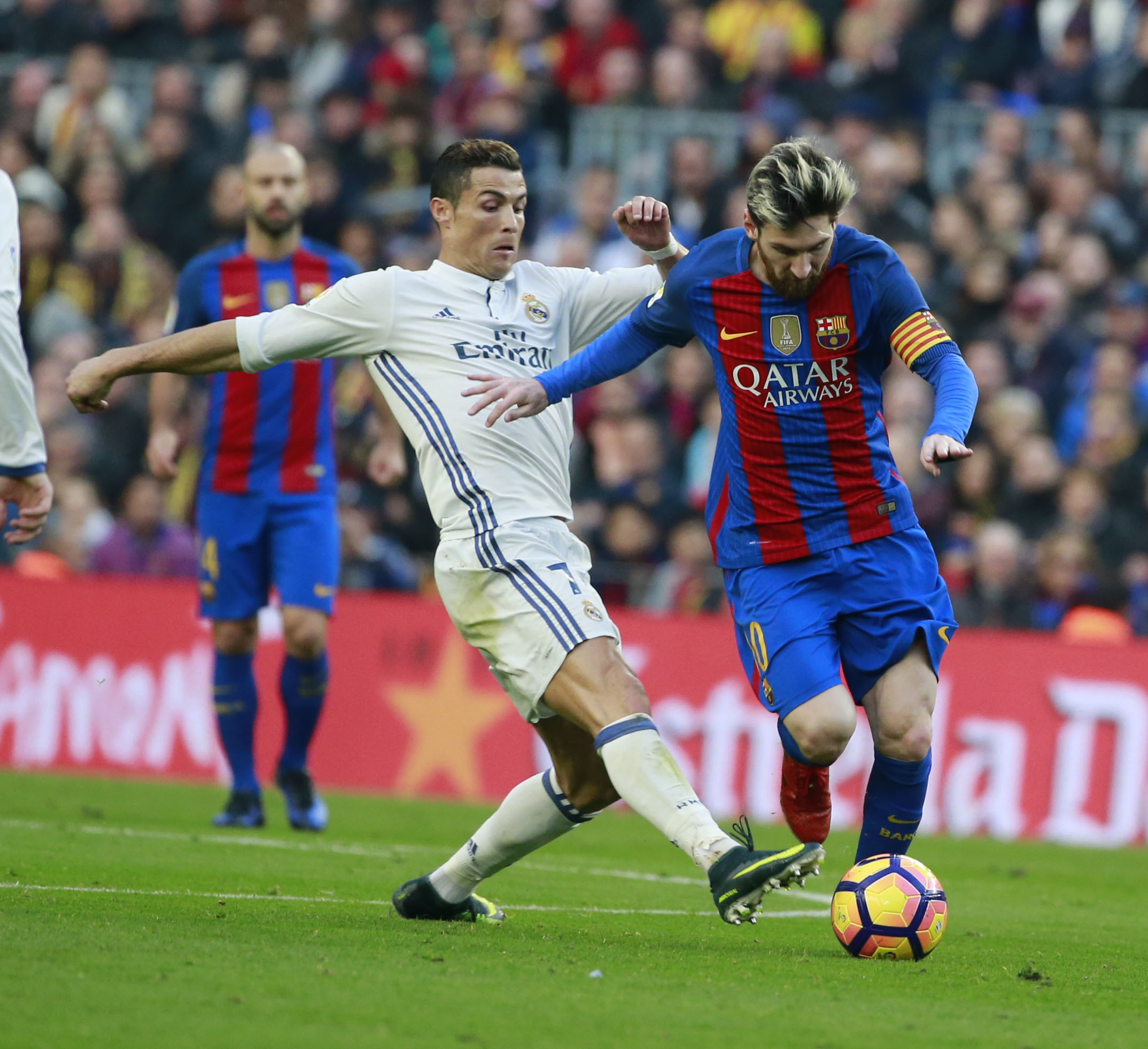 Football - Etranger - Cristiano Ronaldo sur Messi: «La différence, c'est que j'ai gagné la Ligue des champions avec plusieurs clubs»