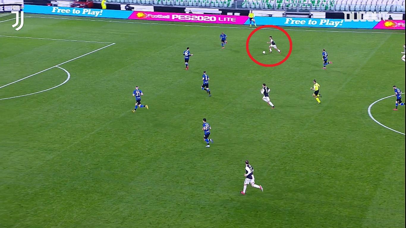 En attendant le foot : le but génial de Dybala contre l'Inter dans un stade vide