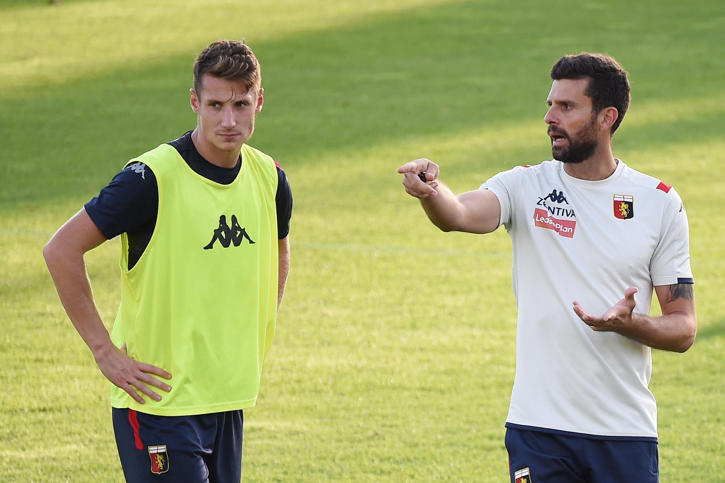 Football - Etranger - L'aventure au plus haut niveau débute au Genoa pour coach Motta