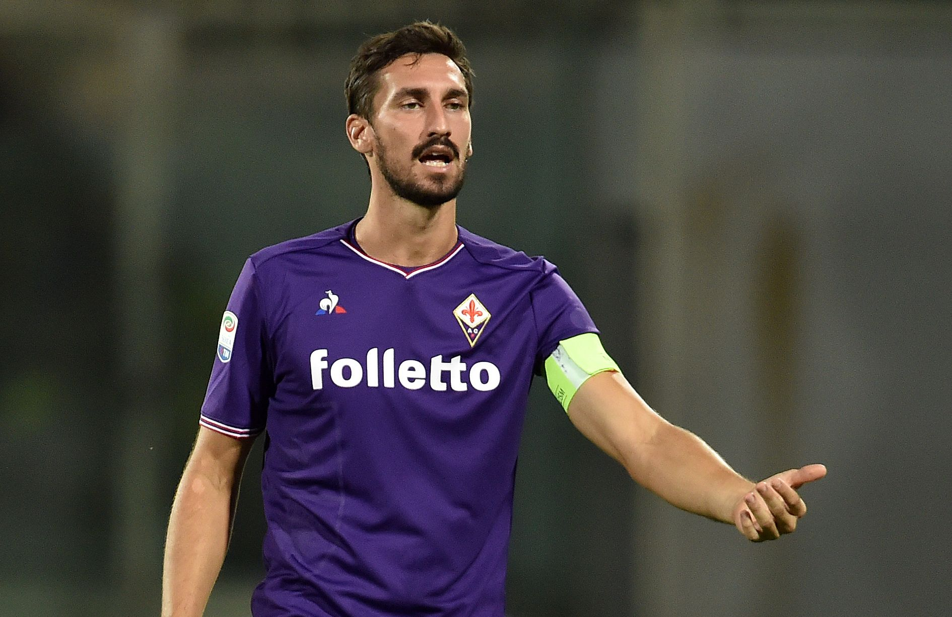 Football - Etranger - La Forentina et l'Italie pleurent Davide Astori